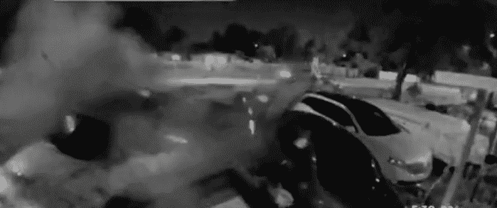 Hit-And-Run Accident In Northwest Miami-Dade Shown By A Ring Camera Video