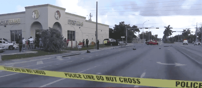 Three Car Accident In Opa-Locka Killed At Least One
