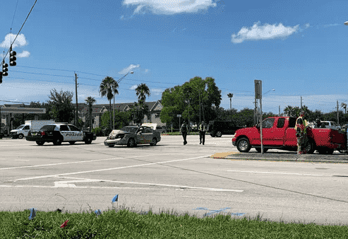 Injuries Caused By Two-Car Crash Along Colonial Boulevard And Metro Parkway In Fort Myers