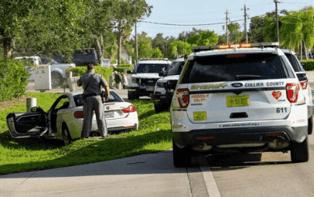 Car Crashed Into Ditch In Collier County; One Dead