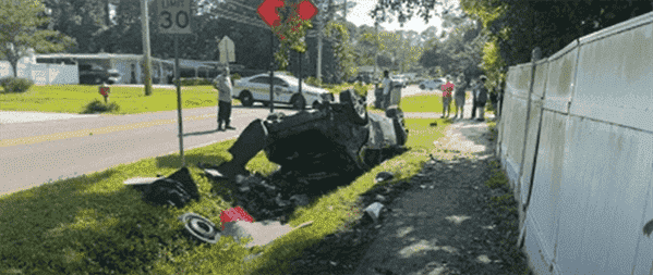 One Injured In Crash On Wiley Road